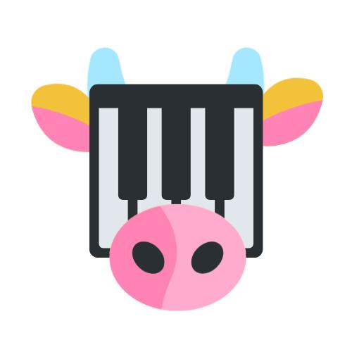 Le piano vache